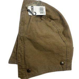 Carhartt Detachable Duck Hood Snap Brown Men S-XL